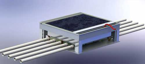 Steel Floor Box