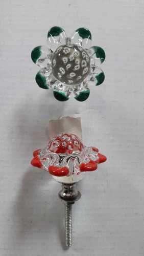 Finely Finished Decorative Glass Door Knob