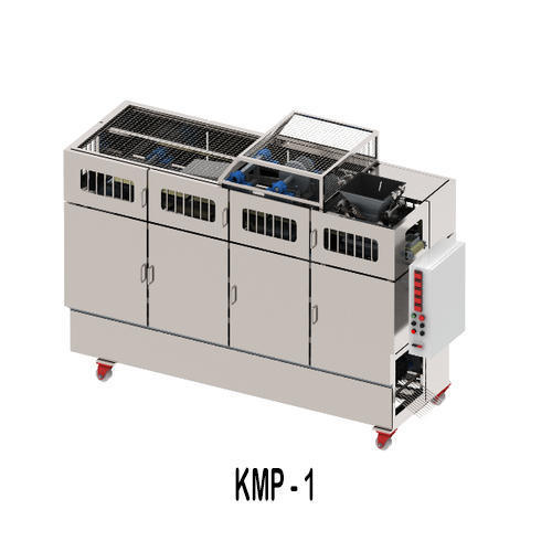 Fully Automatic Chapati Making Machine (Pressing Type or Model: KMP-1)