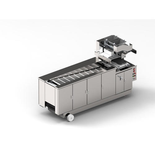 Fully Automatic Chapati Making Machine (ROLLING TYPE/ MODEL: KMR-4)