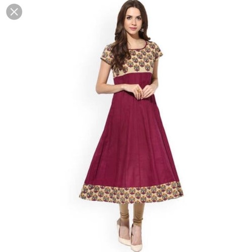 Ladies Cotton Anarkali Kurtis