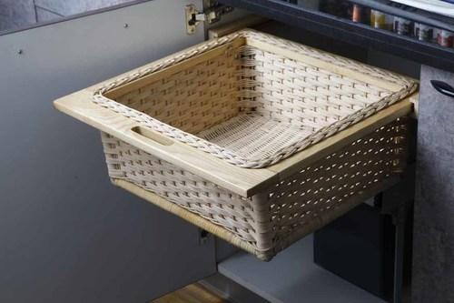 Wicker Basket (L)
