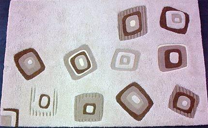 Blocks Ahead Hand Tufted Carpets