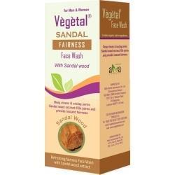 Vegetal Sandal Face Wash