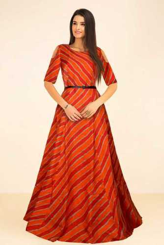 951de60014 Designer Ladies Party Wear Gown - TFUNNY FASHION, 407, Capital Plaza, Opp.  Sardar Farm, Near Yogi Chowk, , Surat, India