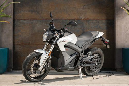 New Zero SR + Power Tank Electric Bike