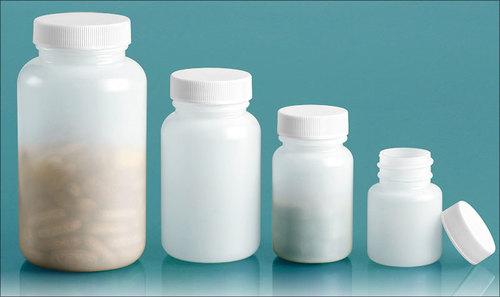Plastic Pharmaceutical Round Jars