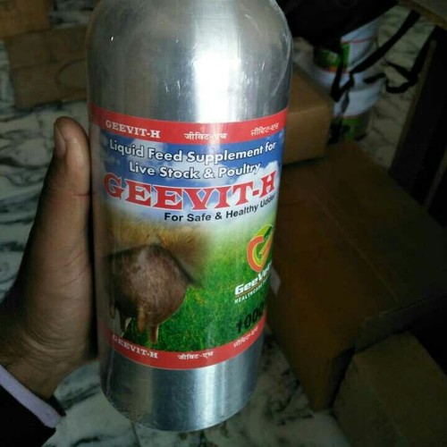 Geevite H Feed Supplement For Live Stock And Poultry