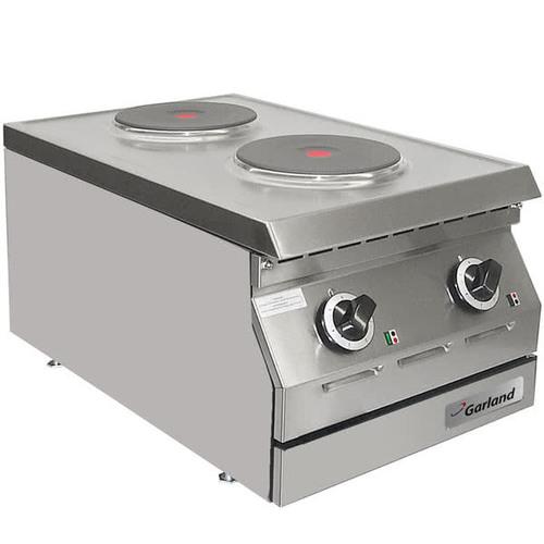 "Designer Series 15"" Two Solid Burner Electric Countertop Hot Plate"