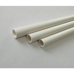 white Robust PVC Conduit Pipe