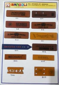 Exclusive Jeans Leather Patches