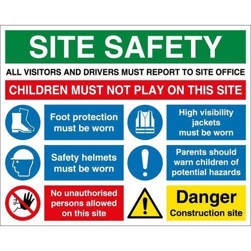 Pvc Safety Sign Boards