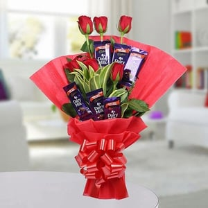 Chocolate Rose Bouquet Pack