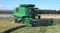 Agricultural Combined Rice Harvester
