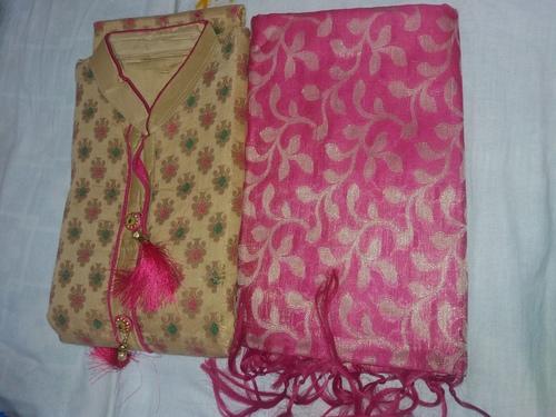 Banarasi Cotton Salwar Suit Washable