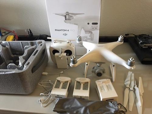 DJI Inspire 1 Pro Drone With Zenmuse X5 Camera