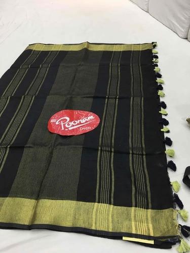 Special Designer Linen Sarees