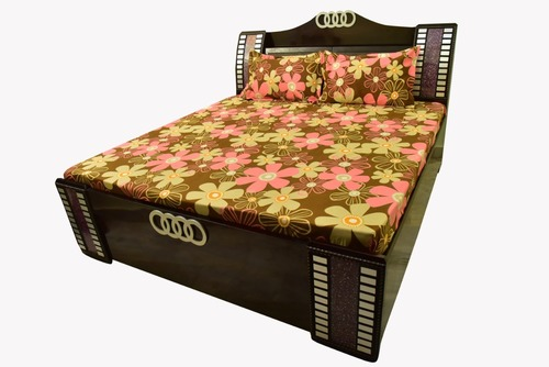 Avnoor Glace Cotton Double Bed Sheet