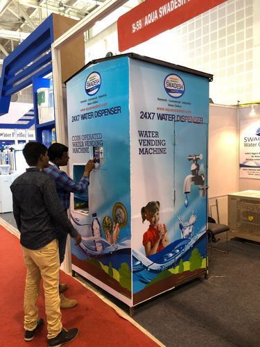 Coin Operated Water Vending Machine - Aqua Swadesh Water