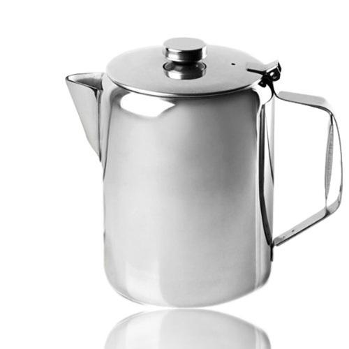 Plain Stainless Steel Teapot