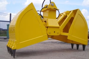 Tough Structure Clamshell Bucket