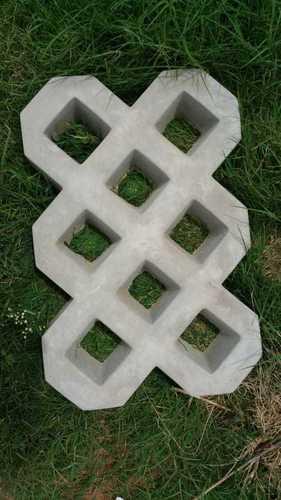 Fully Concrete Grass Paver