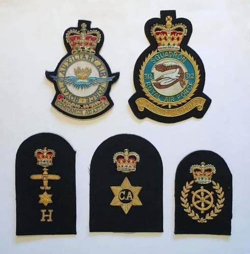Police, Navi Officers Blazer Badges