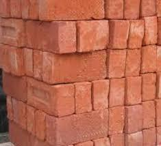 Solid Red Clay Bricks Material: Natural Slate