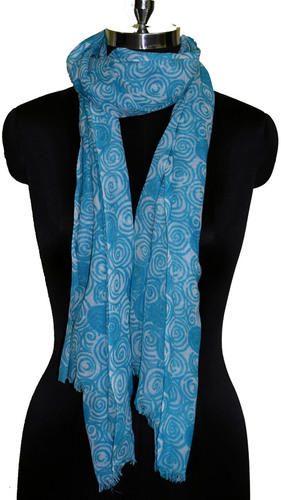 Bright Tarquoise Scarf