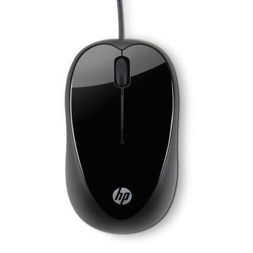 Plain Black Hp Mouse