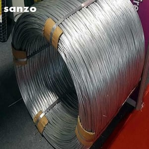 50kgs Roll Hot Dipped Galvanized Steel Wire 5mm