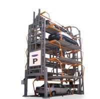 High Performance Rotary Parking System