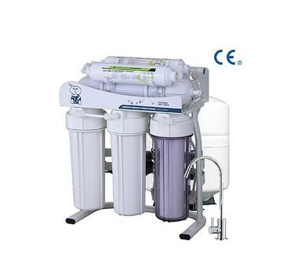 Plastic 6 Stages Ro Water Filter With Booster Pump