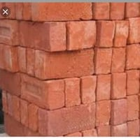 Red Clay Bricks For Construction