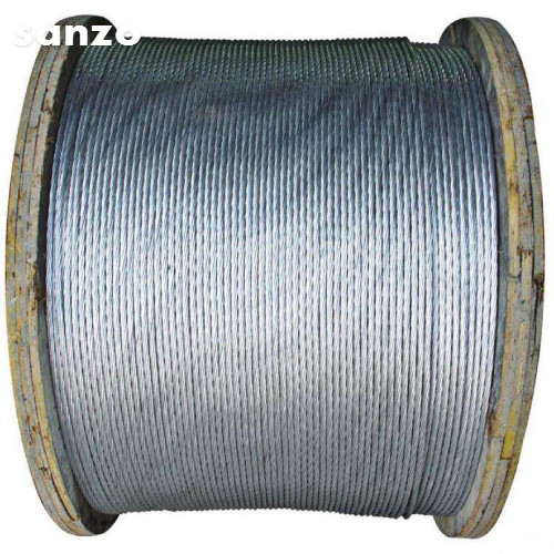 Acsr Core Wire For 4.09Mm Htgs Steel Wire Conforming To Specification Bs215P-2 Certifications: Iso
