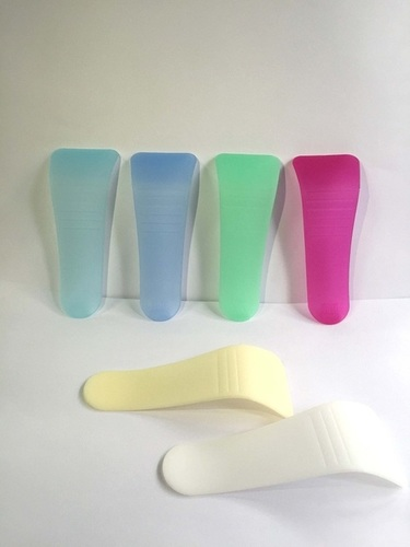 Hair Removal Cream Plastic Spatula with A Curve Plastic Spatula Cosmetic for Depilate Cream