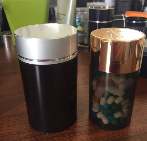 Pill Bottles and Capsule Containers