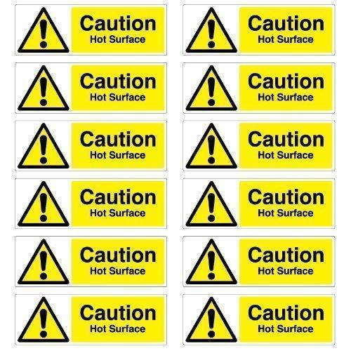 Customized Yellow, Black and White Color Safety Label