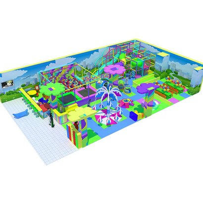 "Indoor Playground ""Emodzy"" for Children with Toddler Zone"