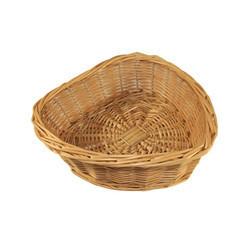 Bamboo Fancy Heart Basket