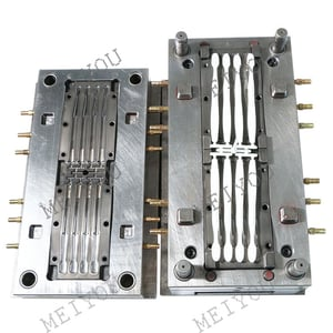 Custom Design Multi Cavities High Precision Plastic Toothbrush Injection Mould