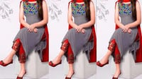 Designer Kurti without Sleeve