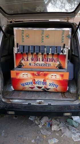 Mobile Soda Making Machine