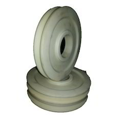 Off White Color Polyamide Pulley