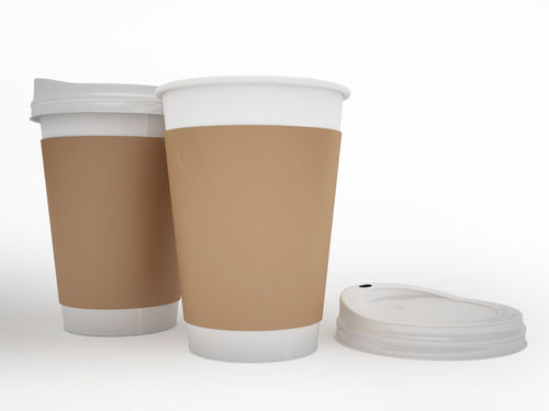 Plain Coffee Paper Cups