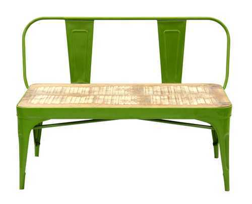 2 Seater Tolix Bench