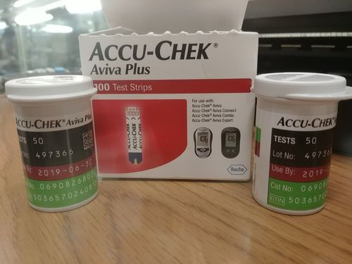 ACCU-CHEK Aviva Plus Glucose Blood Test Strips at Best Price