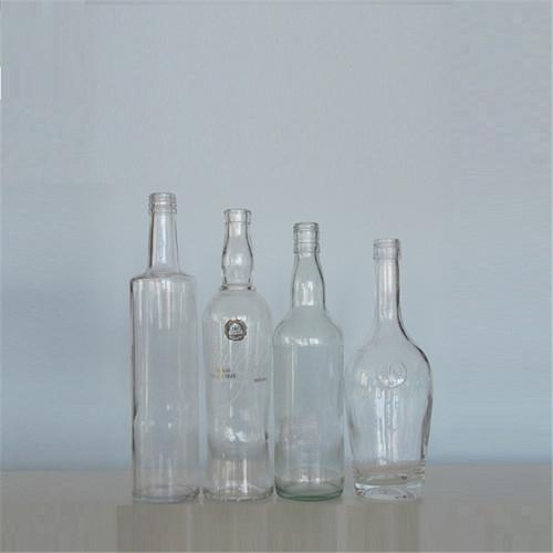 Designer Empty Glass Bottle