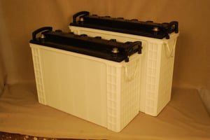 Heavy Battery Containers And Lids