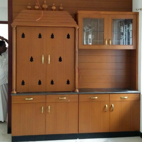 Wooden Pooja Cabinet Services